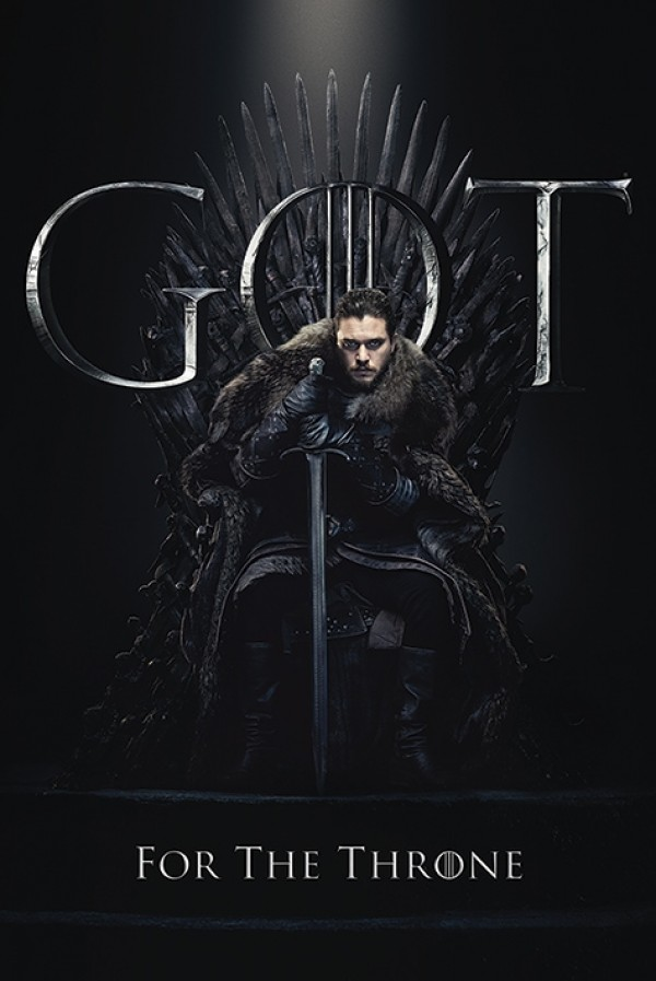 Game Of Thrones (Jon Snow For The Throne) Poster