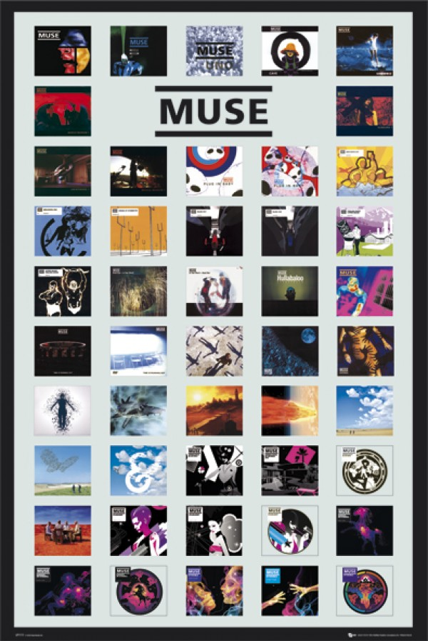 Muse Covers Poster