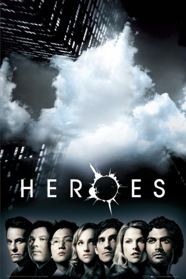 Heroes Explosion Poster