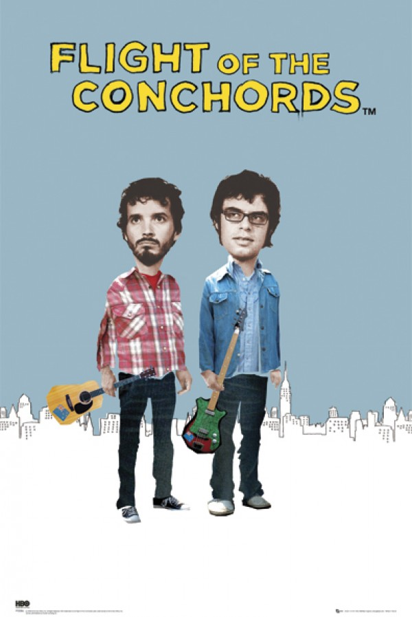 Flight Of The Conchords Season One Poster