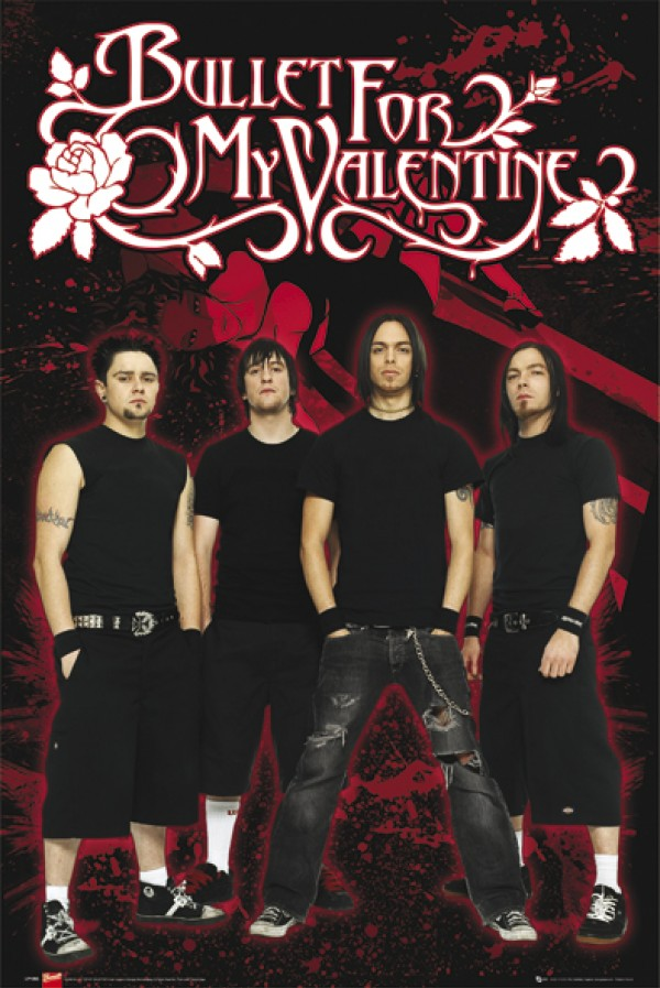 Bullet For My Valentine (Red) Poster