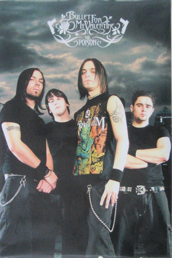 Bullet For My Valentine The Poison Poster