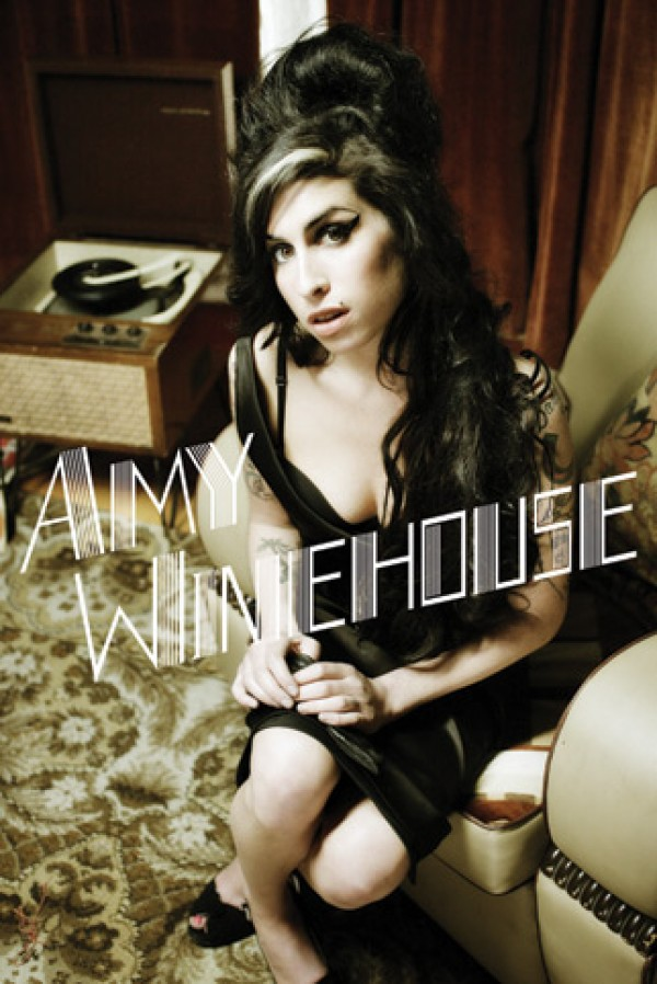 Amy Winehouse Back To Black Poster