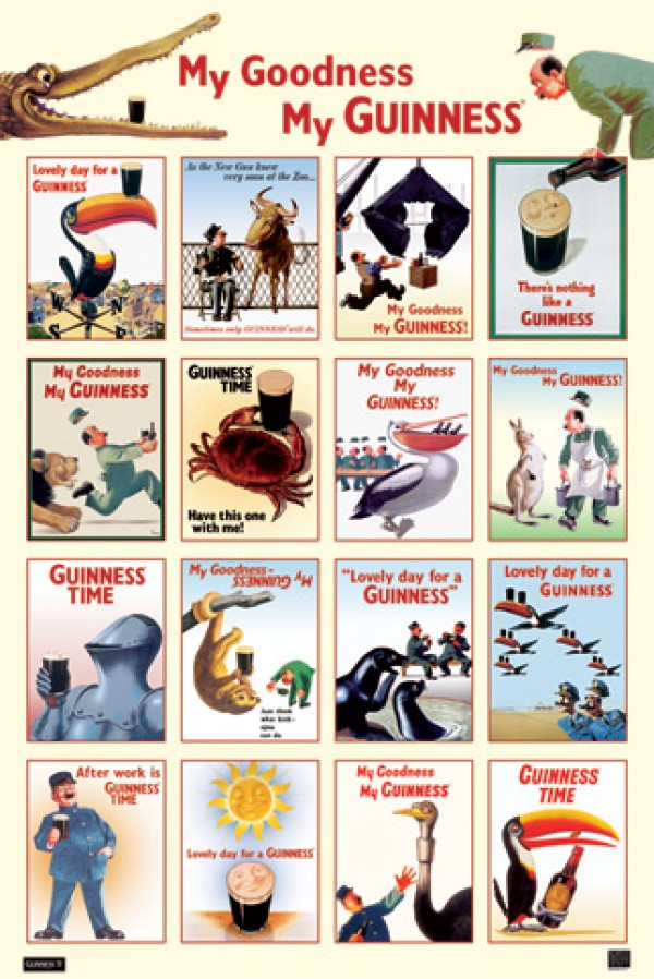 Guinness My Goodness Poster