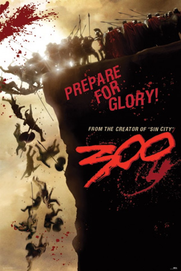 300 Glory Poster