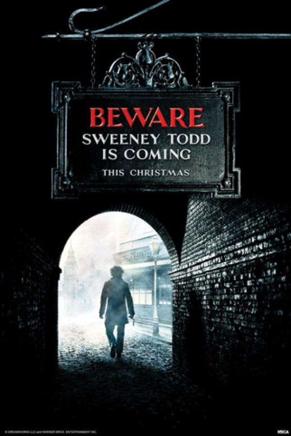 Sweeney Todd Teaser Poster