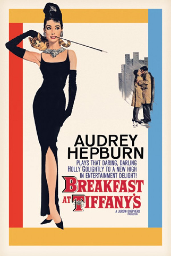 Audrey Hepburn Breakfast At Tiffanys Poster