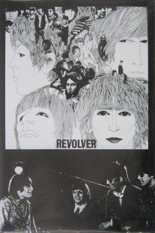 Beatles Revolver & Band Poster