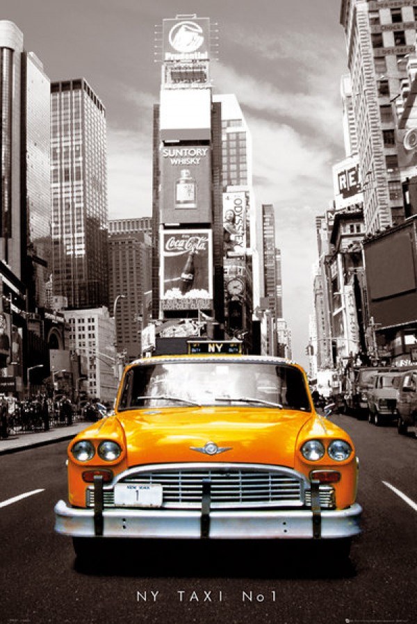 New York Taxi No 1 Poster