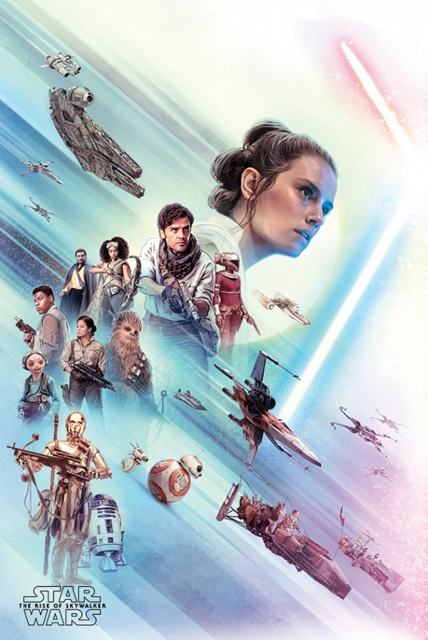 Star Wars Posters Star Wars The Rise Of Skywalker Rey Poster Pp34539 Panic Posters
