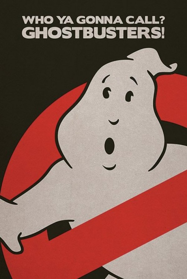 Ghostbusters Logo Poster