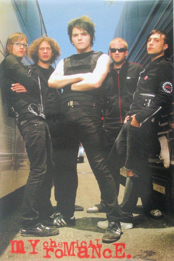 My Chemical Romance (Buses) Poster