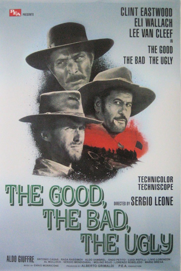 Good, Bad and The Ugly Poster