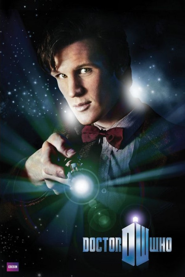 Dr Who poster featuring Matt Smith as The Doctor