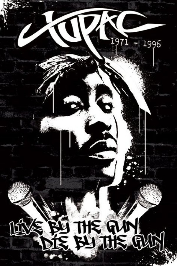 2pac Posters Tupac Live By The Gun Poster Pp32246