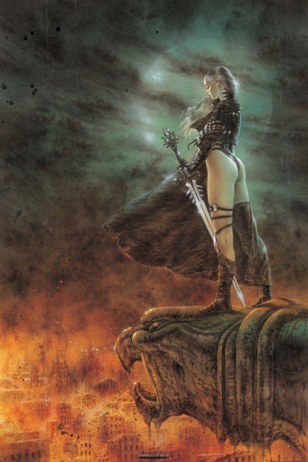 Luis Royo The Hour Has Arrived Poster