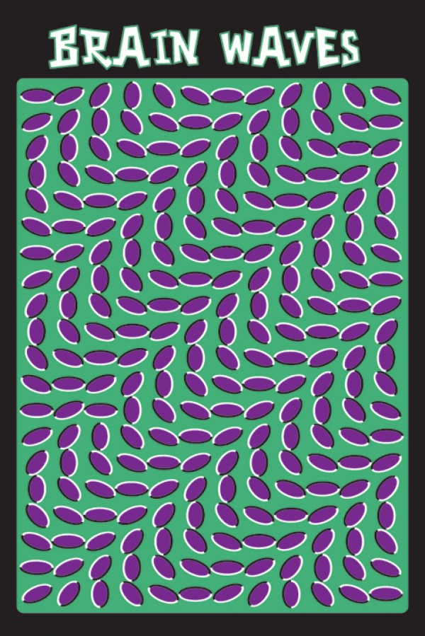 Brainwaves Illusion Poster