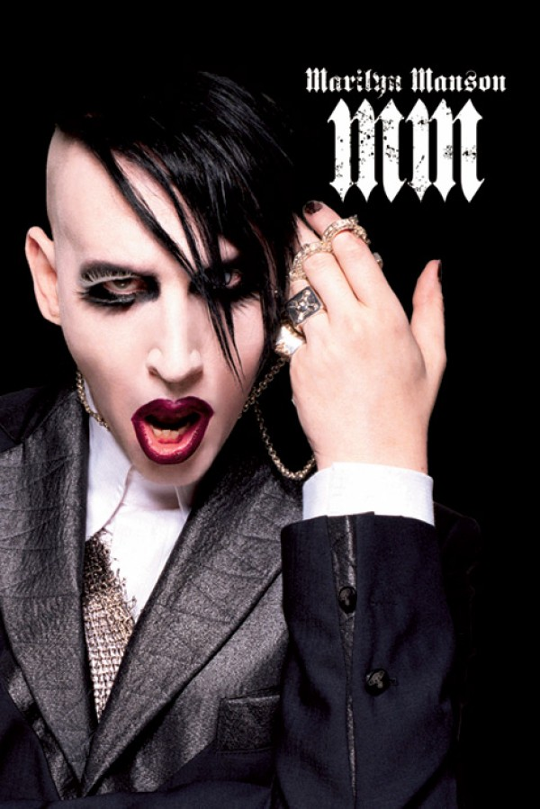 Marilyn Manson Suit  Poster