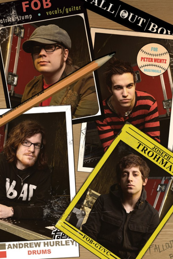 Fall Out Boy (Cards) Poster