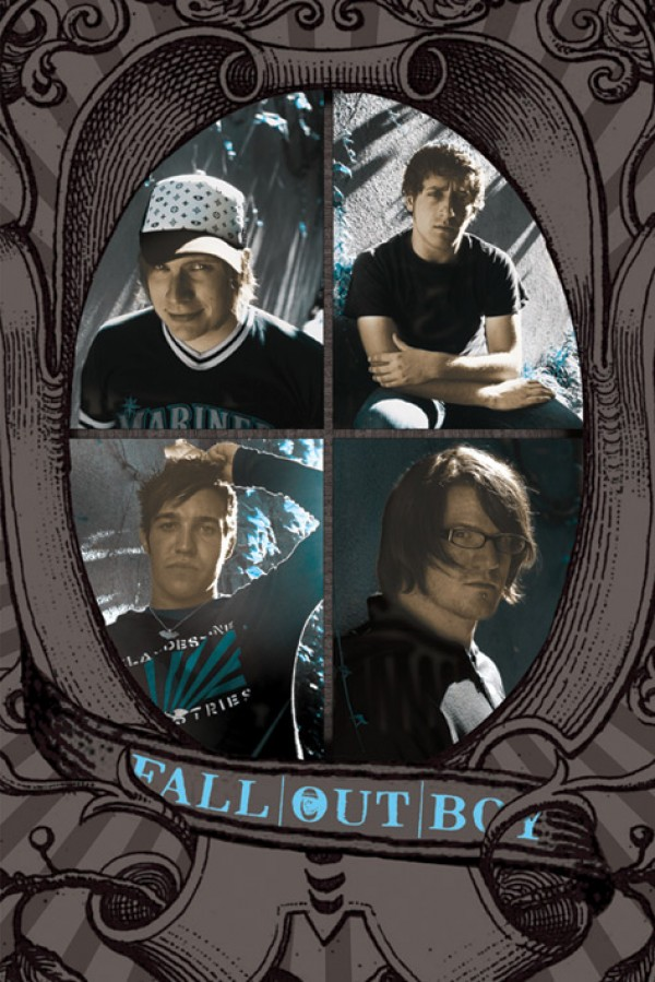 Fall Out Boy (Portraits) Poster