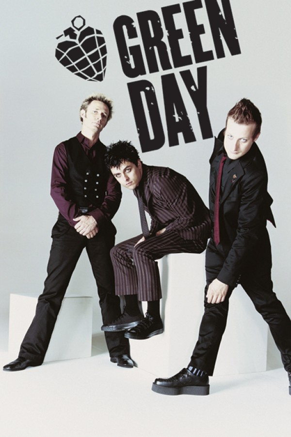 Green Day Suited Poster