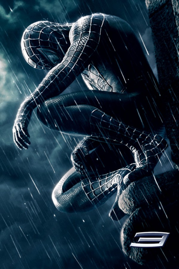 Spiderman 3 Black Costume Poster