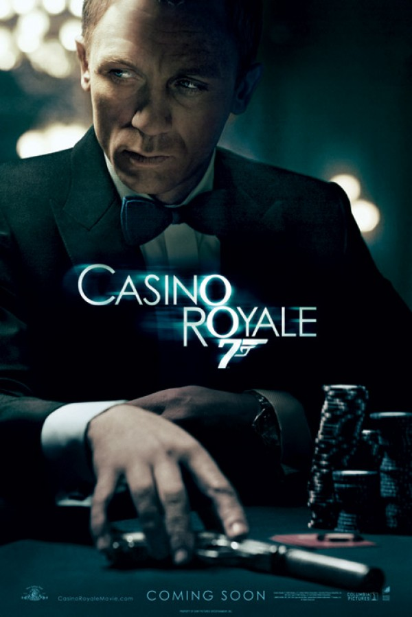 James Bond Casino Royale (Table) Poster