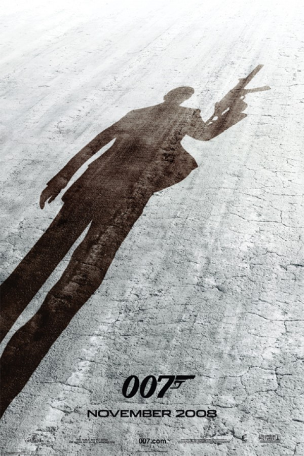 James Bond  Quantum Of Solace (Shadow) Poster