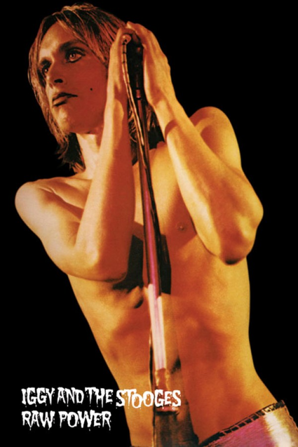 Iggy Pop & The Stooges Raw Power Poster