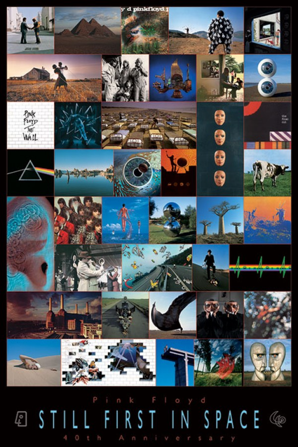 Pink Floyd Posters Pink Floyd 40th Anniverary Poster Pp31353