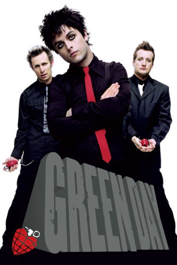 Green Day Grenades Poster