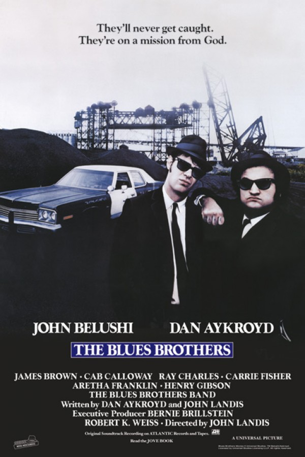 Blues Brothers Mission Poster