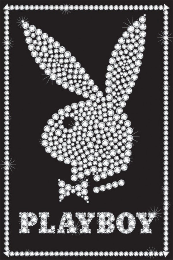 Playboy Bling Bunny poster