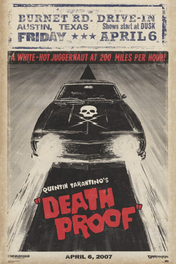 Tarantino's Death Proof film poster