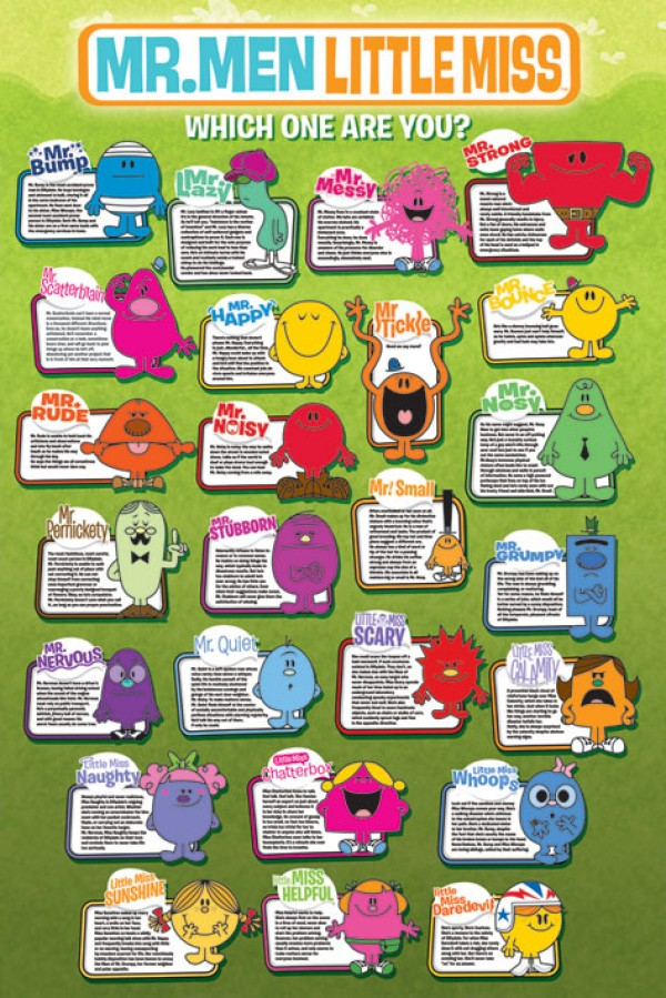 Mr Men and Little Miss (Which?) Poster
