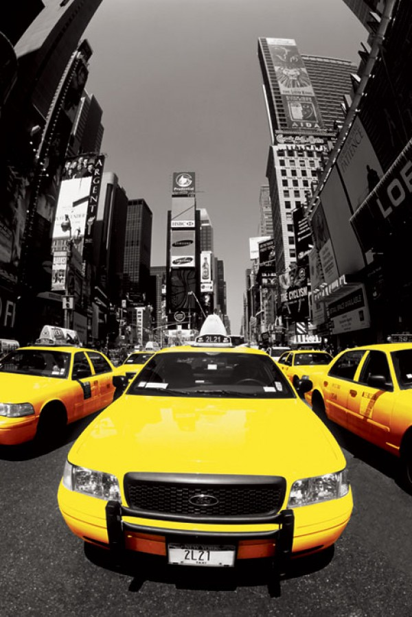 Poster New York Taxi.New York Taxi Posters New York Yellow Cab Poster Pp31726 Panic