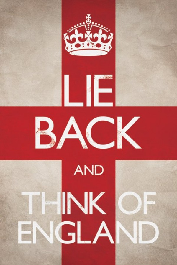 Lie Back And Think Of England Poster