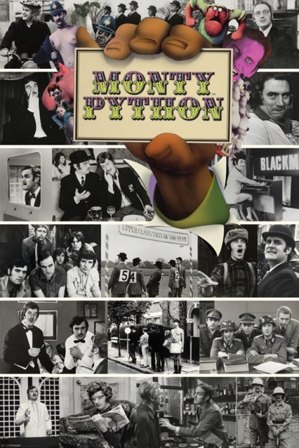 Monty Python Flying Circus Montage Poster
