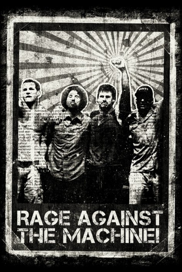 Rage Against The Machine (Distressed) Poster