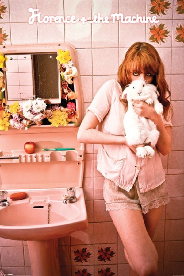 Florence And The Machine Rabbit Heart poster