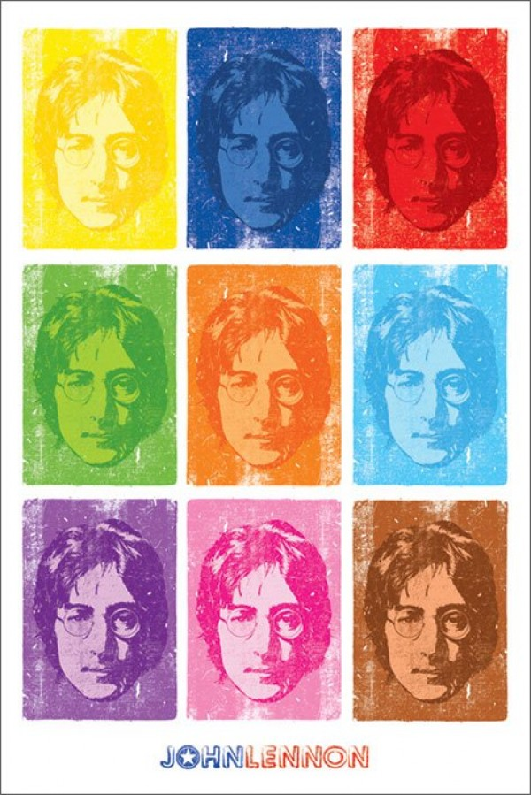 John Lennon Pop-Art Poster