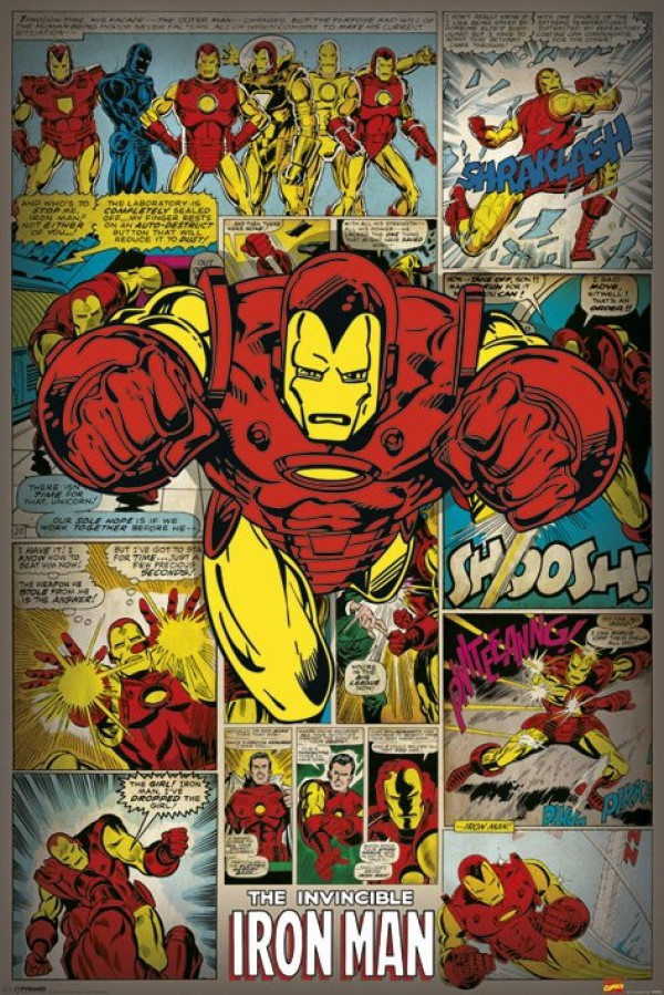pp32742-iron-man-poster Giant Map Poster on large map poster, star wars map poster, great wall of china poster,