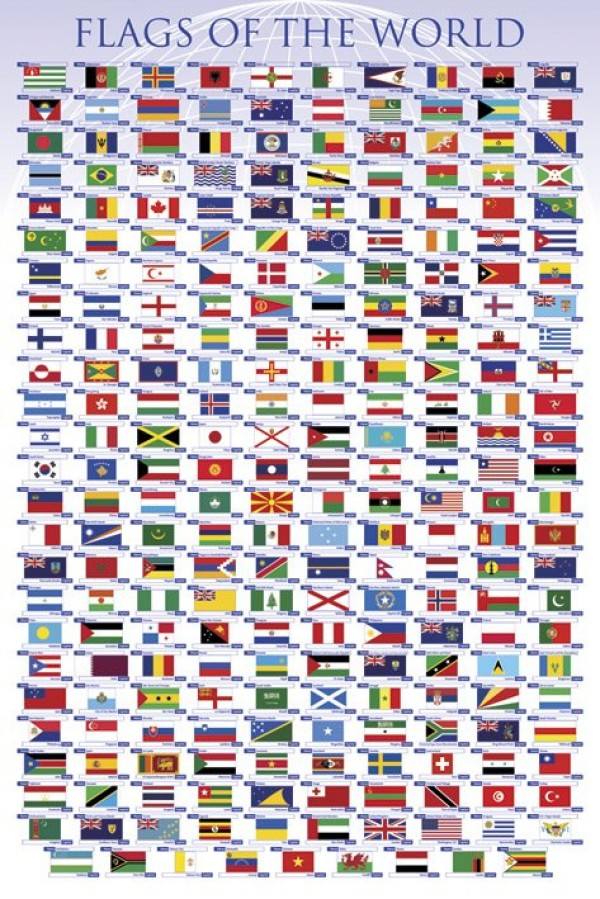 Flags Of The World Poster