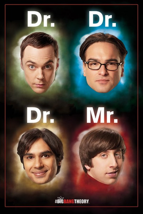 Big Bang Theory Posters Big Bang Theory Doctor Mr Poster