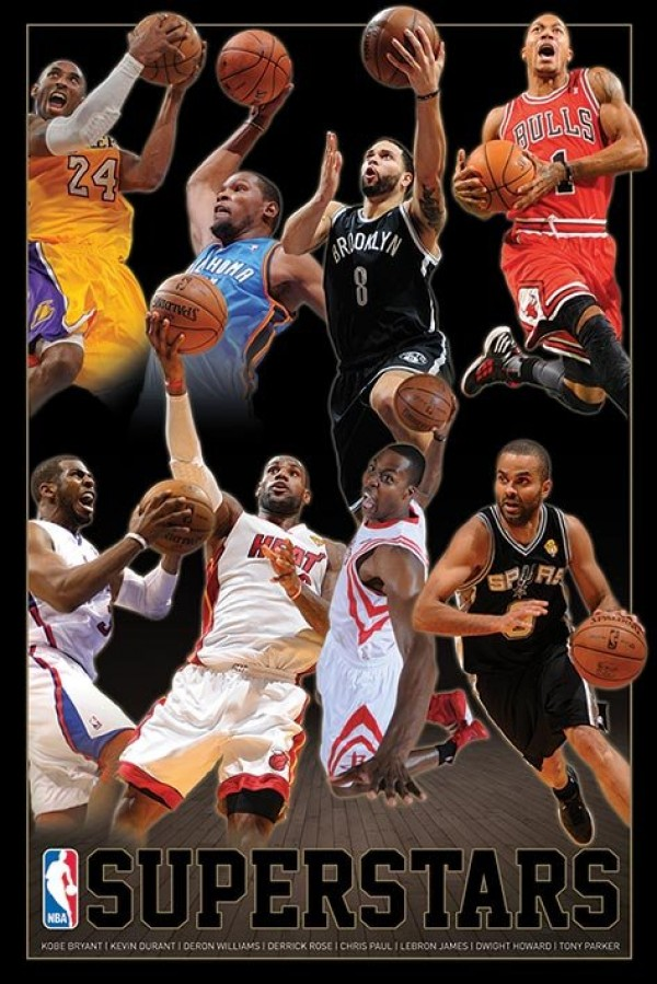 Nba Basketball Posters Nba Superstars Poster Pp33228