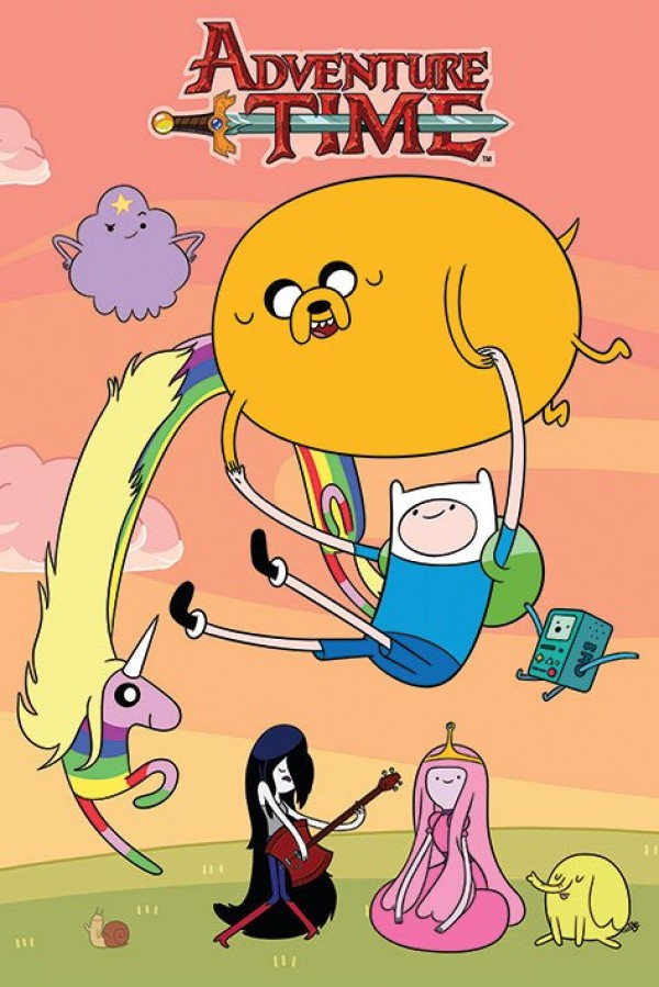 Adventure Time (Sunset) Poster