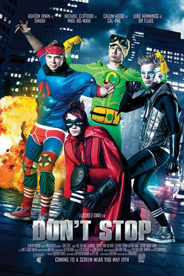 5 Seconds Of Summer (Don't Stop) Poster