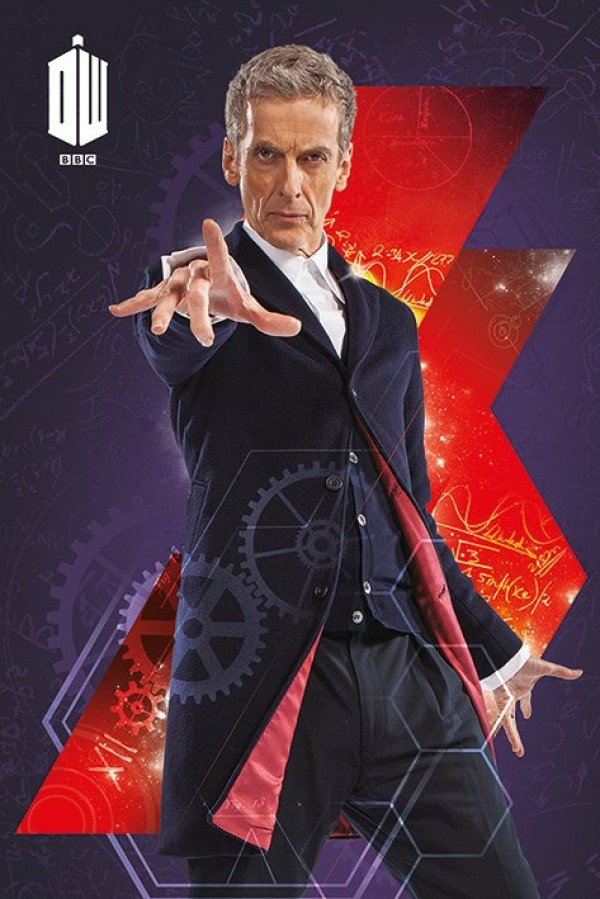 Doctor Who Posters Dr Who Twelfth Doctor Poster Pp33450 Panic