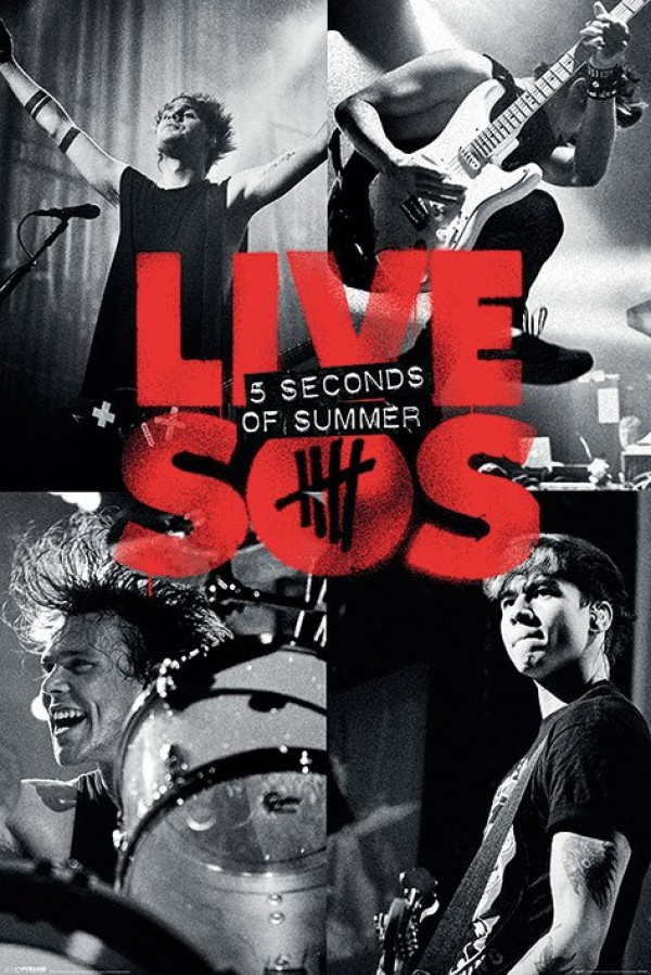 5 Seconds Of Summer (Live) Poster