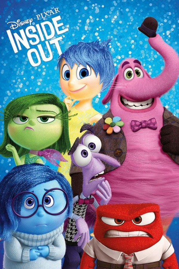 Inside Out (Characters) Poster